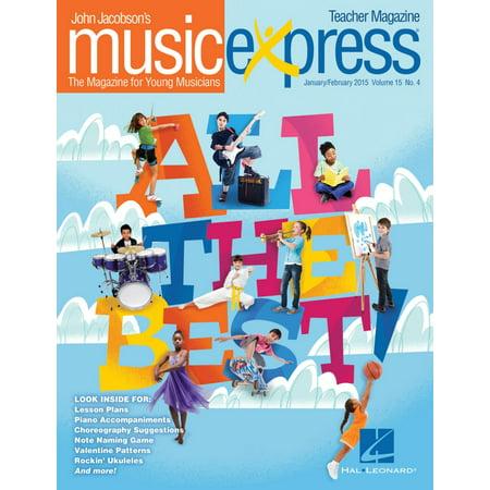 Hal Leonard All the Best Vol. 15 No. 4 Teacher Magazine w/CD by Sara Bareilles Arranged by Emily (Best Price Ar 15 Magazines)