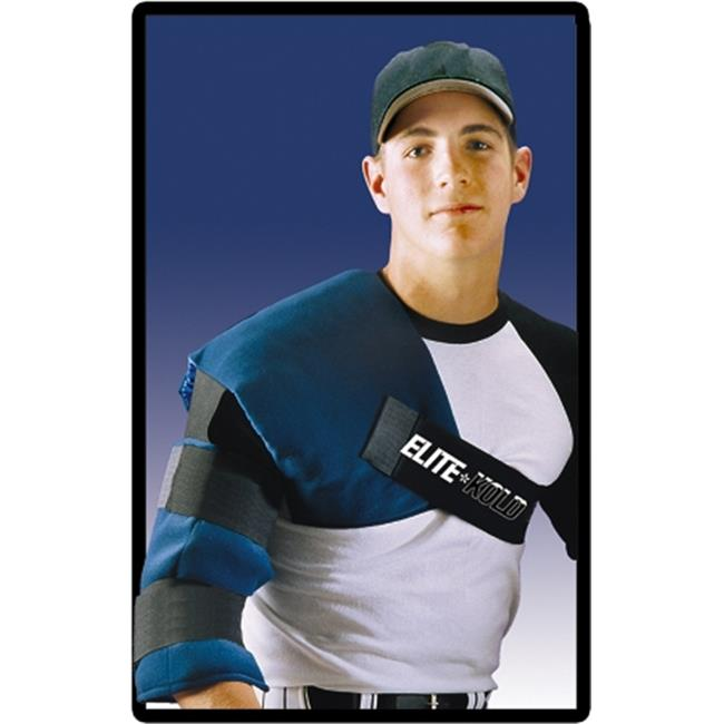 Elite-Kold DK-054 Adult Shoulder Ice Wrap Blue One Size