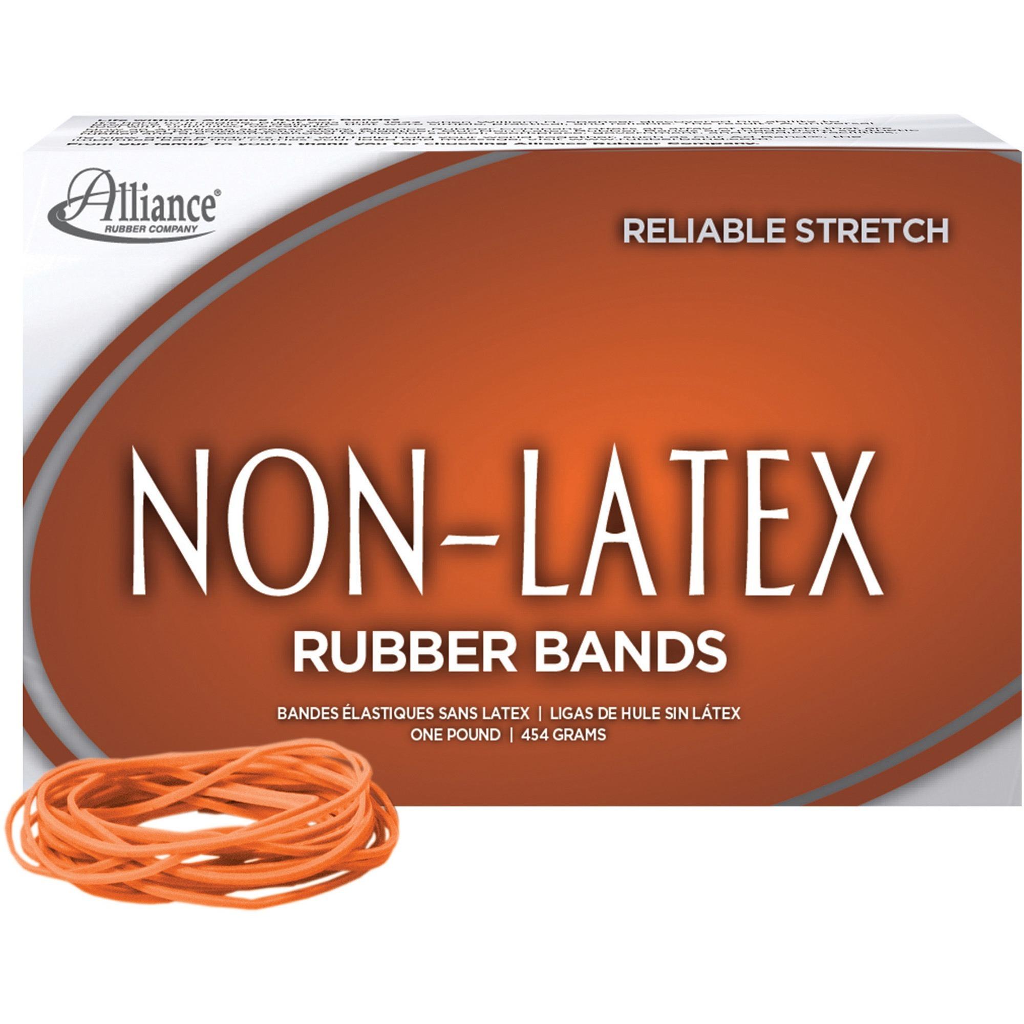 Non-Latex, ALL37196, Rubber Bands, 1440 / Box, Orange