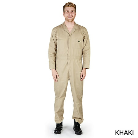 NATURAL UNIFORMS - FREE SHIPPING MENS LONG SLEEVE COVERALL