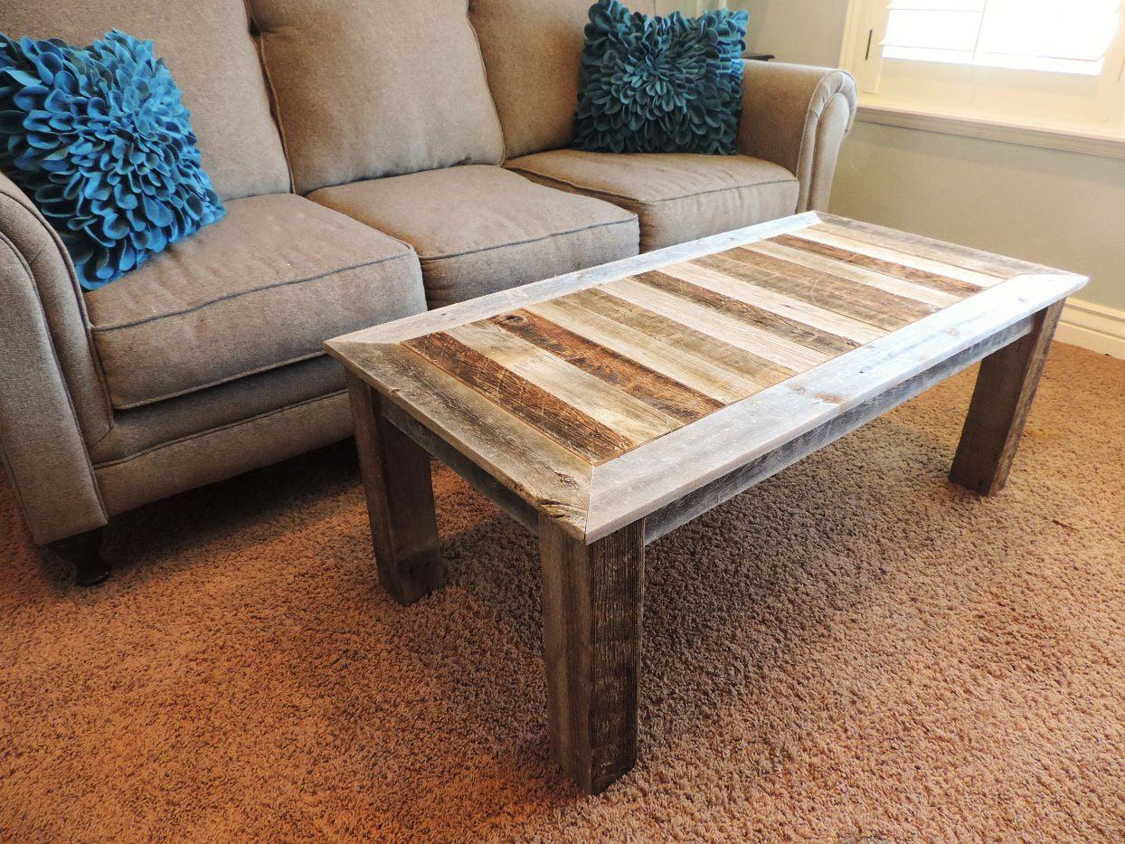 allbarnwoodrustic reclaimed wood coffee table solid