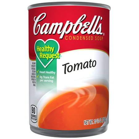 ((12 Pack) Campbell's CondensedHealthy Request Tomato Soup, 10.75 oz. Can)