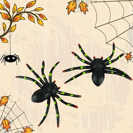Happy Halloween Party Toy Household Children Room Decor Terror Spider Supplies - Halloween Spider Songs For Children