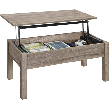 Mainstays LiftTop Coffee Table Multiple Colors Walmart Cool Sewing Machine Table Walmart Canada