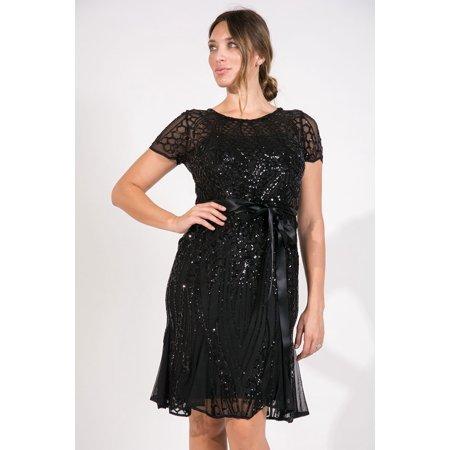 - R&M Richards Short Mother of Bride Formal Cocktail Dress