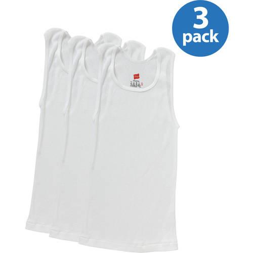 Hanes - Boys' A-Shirt, 3 Pack