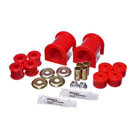 Energy Suspension 89-11 Ford F53 Class A Motorhome 1-1/2in Front Sway Bar Bushings - Red ()