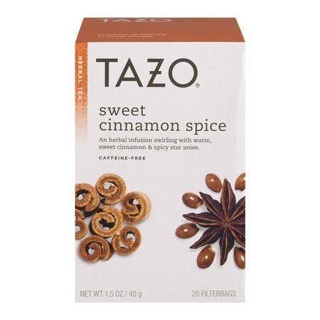 (3 Boxes) Tazo Herbal Tea Sweet Cinnamon Spice - 20 CT