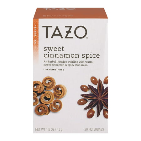 (3 Boxes) Tazo Herbal Tea Sweet Cinnamon Spice - 20