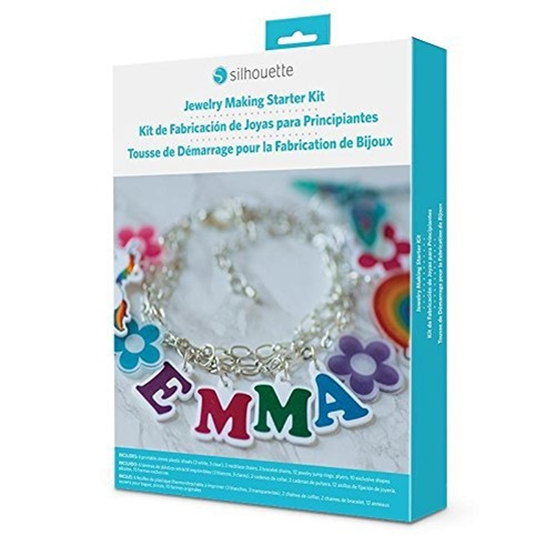 Silhouette Jewelry Making Starter Kit for Cameo, Portrait, & Curio Machines
