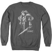 Hobbit King Thorin Mens Crewneck Sweatshirt