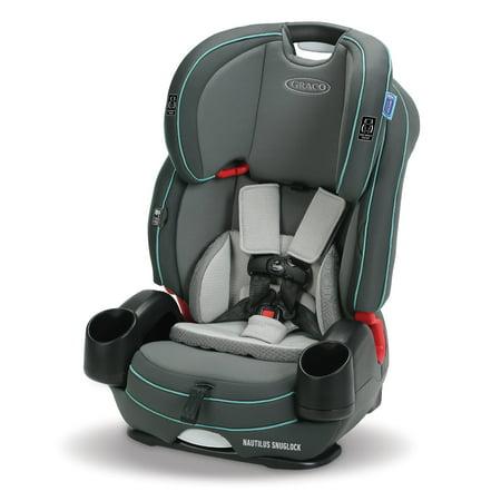 Graco Nautilus SnugLock 3-in-1 Harness Booster Car Seat, Kanai
