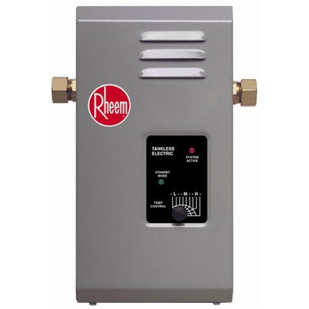 rheem rte-3 electric tankless water heater - 3 kw - walmart