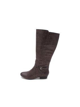 20f17eee241 Product Image Kim Rogers Womens Temira Almond Toe Mid-Calf Fashion Boots