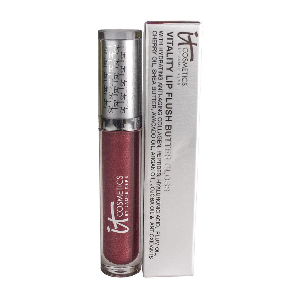 it Cosmetics Vitality Lip Flush Butter Gloss, 0.11oz/3.4ml