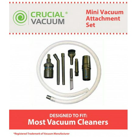 Mini Micro Tool Attachment Set, Fits All Vacuum Cleaners