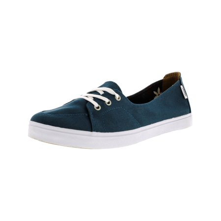e10f54b2e4 Vans - Vans Women s Palisades Sf Aloha Atlantic Ankle-High Canvas Flat Shoe  - 7M - Walmart.com