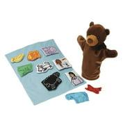 Marvel Education 1531966 Marvel Education Puppet & Props for Brown Bear Brown Bear, Set of 12