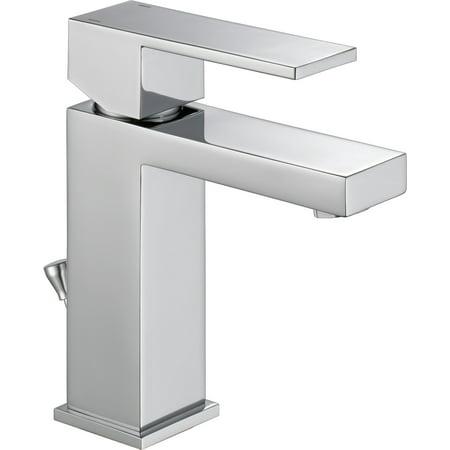 Delta Modern Single Handle Project Pack Bathroom Faucet Chrome