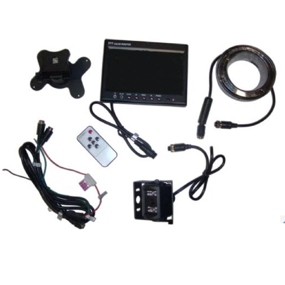 "8301345 New Universal Safety Cam Kit 12 Volt 12 Watt 7"" TFT-LCD Color Monitor"