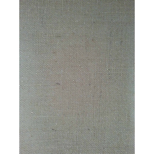 Laminated Burlap Sheets, Natural with Gold Metallic, 2 Packs