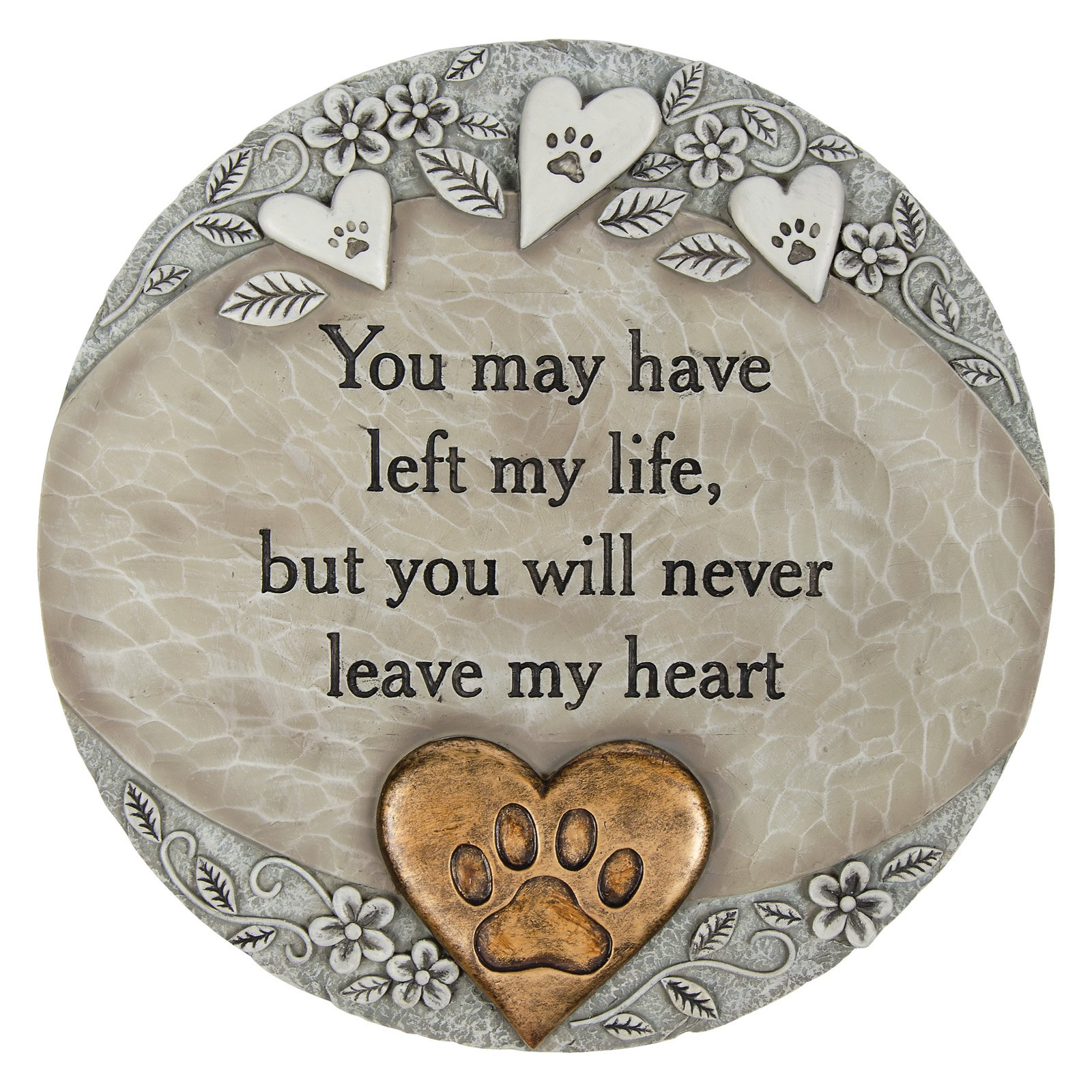 Carson Home Accents Pet Heart Garden Stone by CARSON HOME ACCENTS