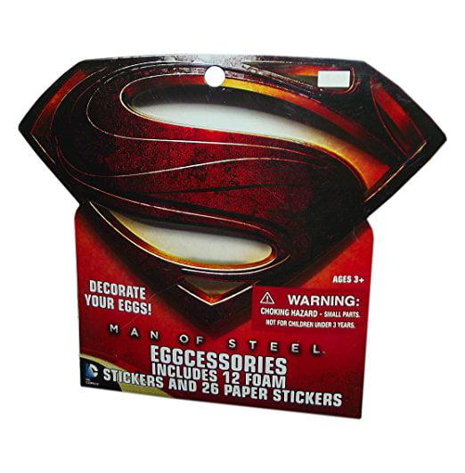 Superman easter egg decorating kit