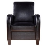 NH Designs Faux Leather Accent Chair