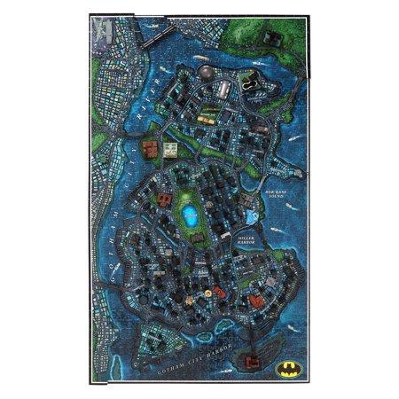 4D Cityscape 4D Batman Gotham City Time Puzzle (1000 Piece) - image 3 of 10