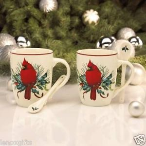 Lenox winter greetings cocoa mugs set of 2 walmart m4hsunfo