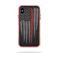 MightySkins Skin Compatible With LifeProof SLAM iPhone XS Max Case - America Strong | Protective, Durable, and Unique Vinyl wrap cover | Easy To Apply, Remove, and Change Styles | Made in the USA