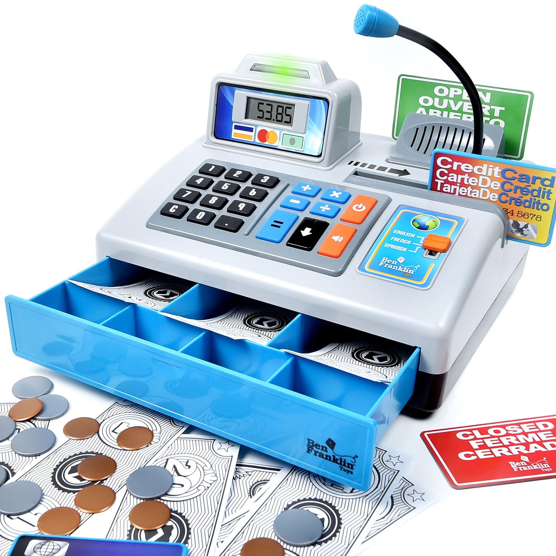 Ben Franklin Talking Cash Register