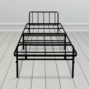 granrest 14 inch tall twin size metal bed frame with headboard footboard - Metal Bed Frame With Headboard