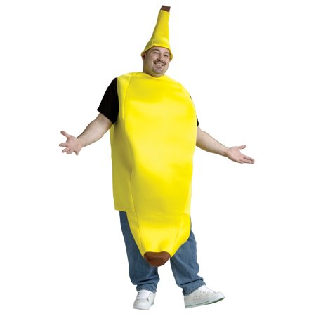 The Big Banana Adult Halloween Costume - One - Banana Costume Halloween