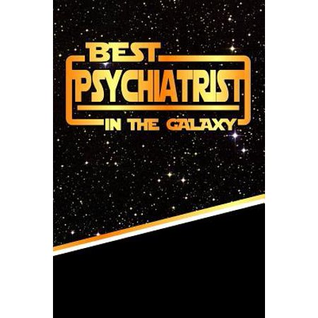 The Best Psychiatrist in the Galaxy : Isometric Dot Paper Notebook Book 120 Pages