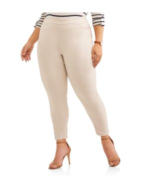 Womens Plus Wear-to-Work Pants - Walmart.com