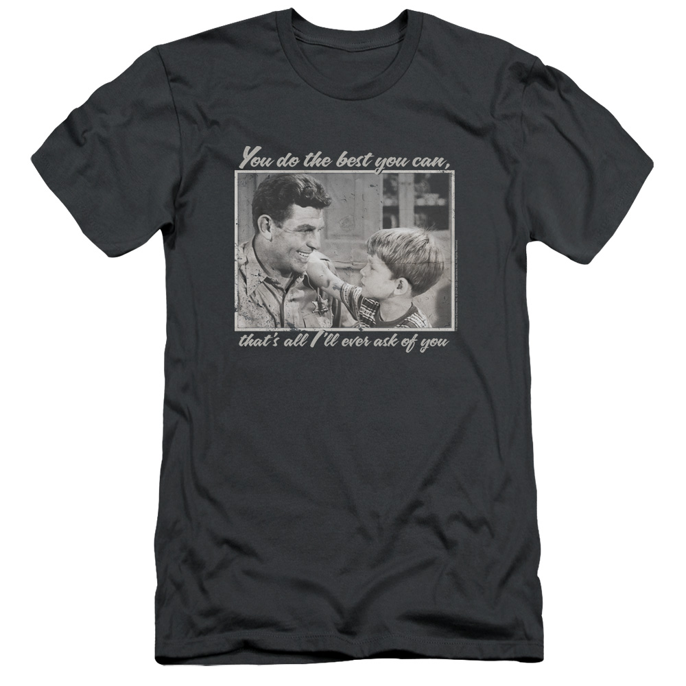 The Andy Griffith Show Wise Words Mens Slim Fit Shirt