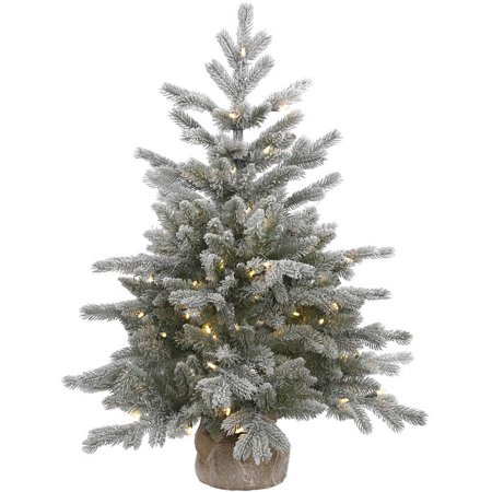 vickerman pre lit 3 frosted sable artificial christmas tree led warm white