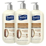 (3 Pack) Suave Skin Solutions Body Lotion Cocoa Butter and Shea 32 oz