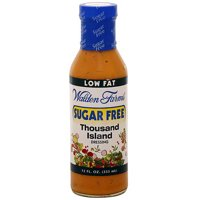 Walden Farms Sugar Free 1000 Island Salad Dressing, 12 oz (Pack of 6)