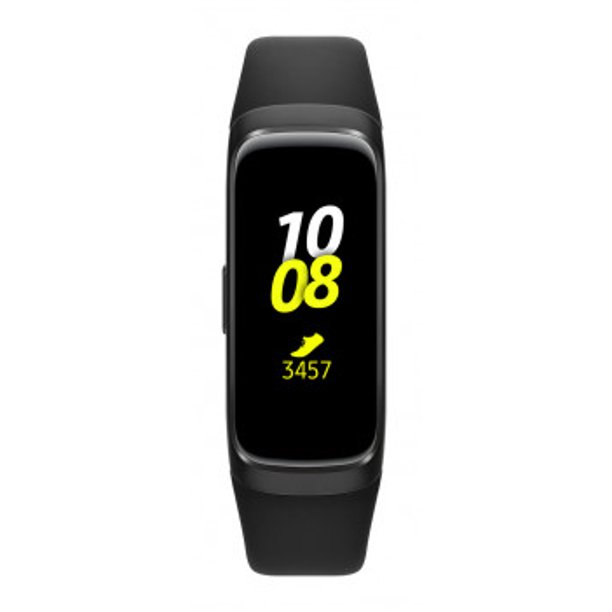 SAMSUNG Galaxy Fit Activity Tracker + Heart Rate, Black - SM-R370NZKAXAR
