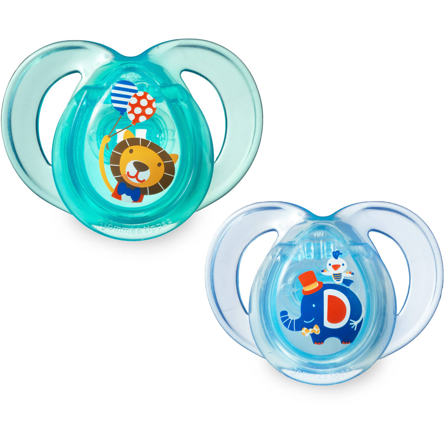 Tommee Tippee Closer to Nature 6-18 Month Everyday Pacifiers, 2pk, Boy by Tommee Tippee
