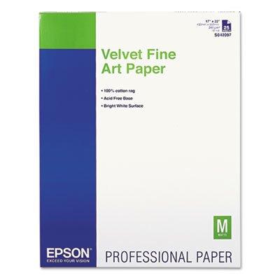 Velvet Fine Art Paper EPSS042097