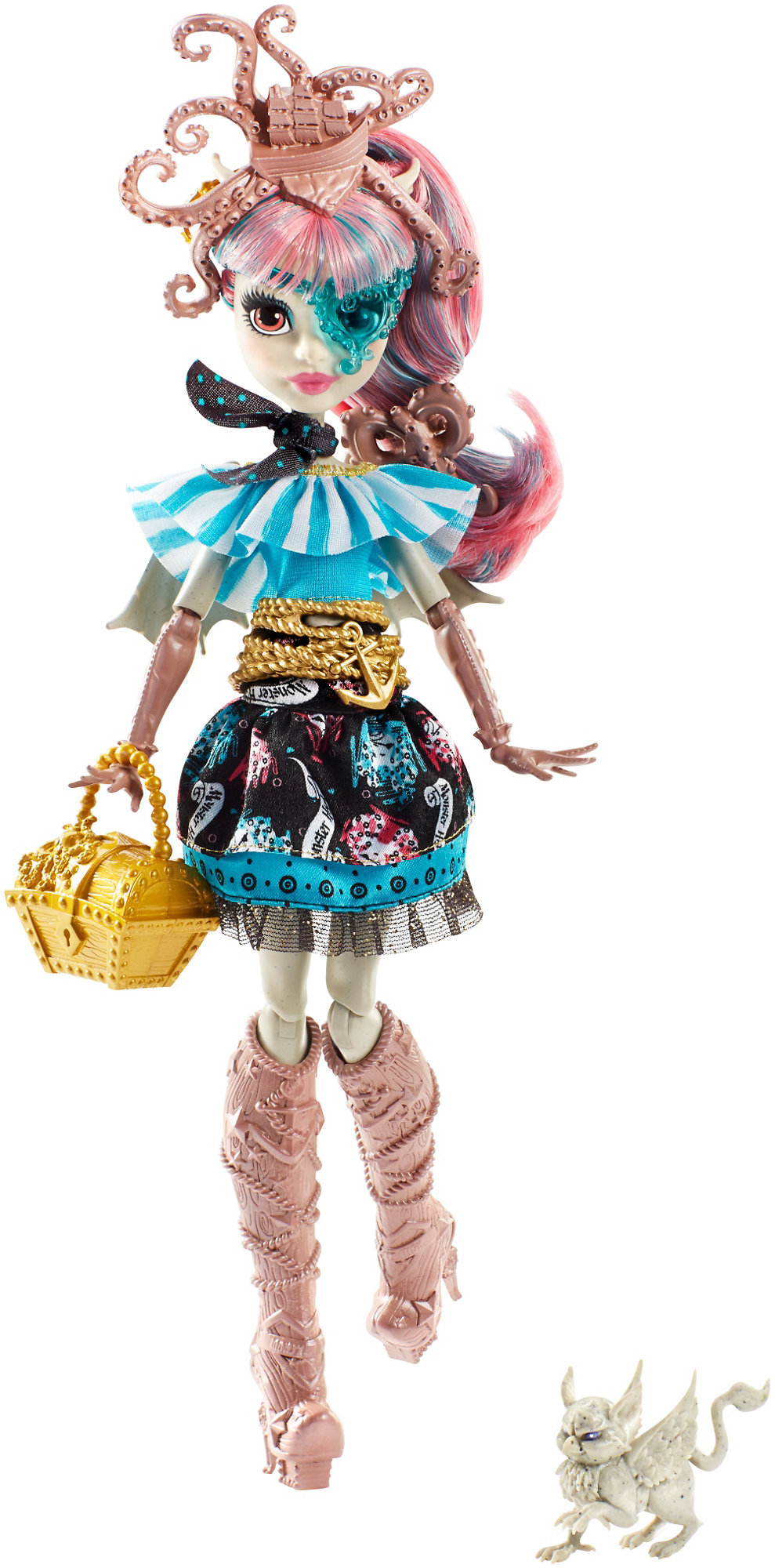 Monster High Shriekwrecked Nautical Ghouls Rochelle Goyle Doll by Mattel