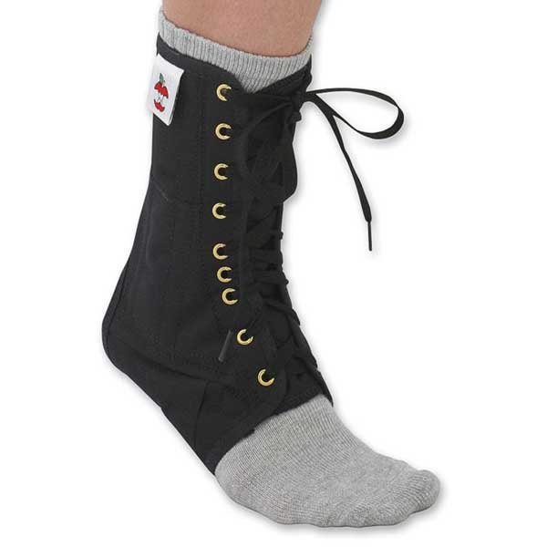 Core Products Lace-Up Ankle Support Black-Small