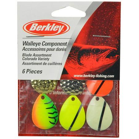 Berkley walleye spinner rig blades for Walmart fishing spinners