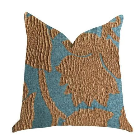 Plutus PBRA1364-1225-DP Golden Arabella Vine in Green & Bronze Tones Luxury Throw Pillow, 12 x 25 in. - image 3 de 3