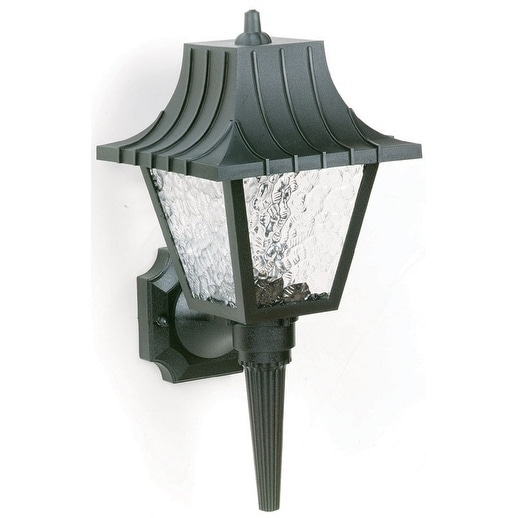 Westinghouse   1 lights Black  Outdoor Wall Lantern