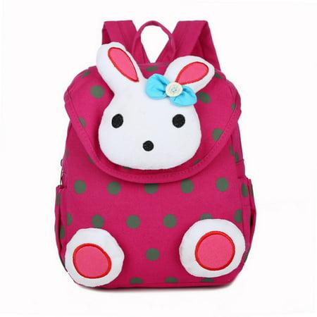 zdstore - Kids Toddler Backpack Schoolbag Kindergarten Cotton Rabbit Bag -  Walmart.com 04c90a113166f