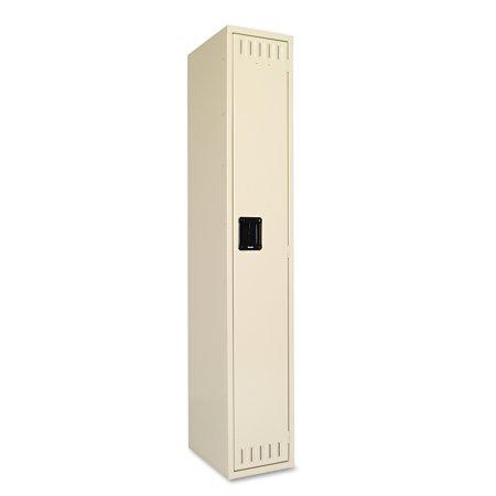 - Tennsco Single Tier Locker, 12w x 18d x 72h, Sand